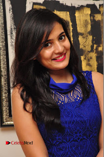 Actress Radha Pictures in Blue Short Dress at talabbayi Audio Launch  0004
