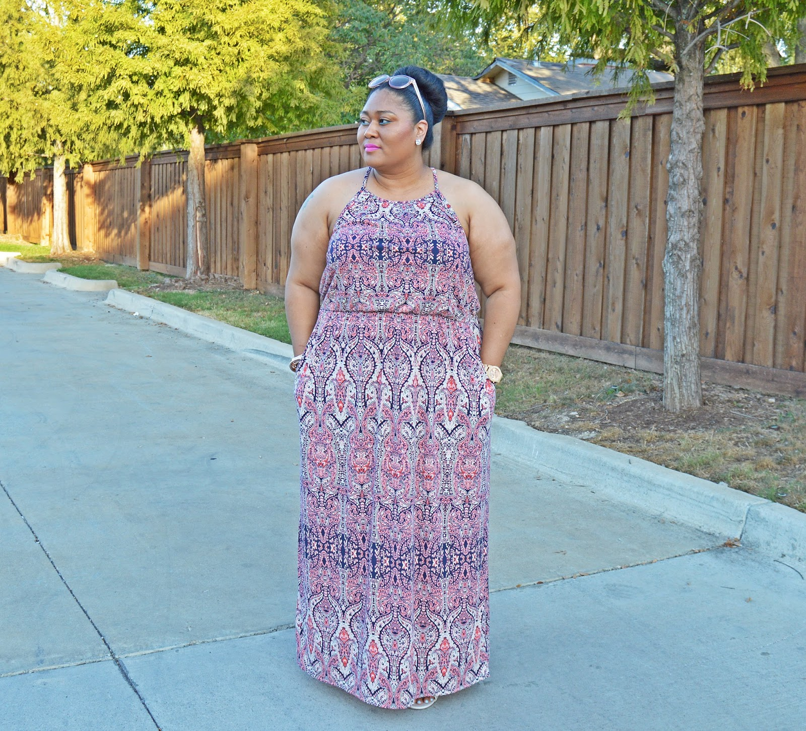 1c31a33832 Use maxi dresses to maximize your summer wardrobe by layering tops over the  dress to simulate a skirt ...