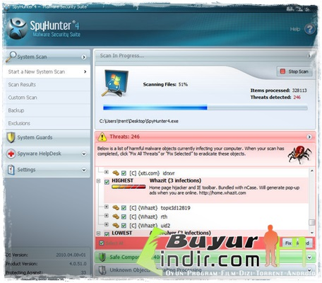 Casus program tarama - Samsung telefonda program güncelleme