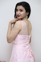 Sakshi Kakkar in beautiful light pink gown at Idem Deyyam music launch ~ Celebrities Exclusive Galleries 040.JPG