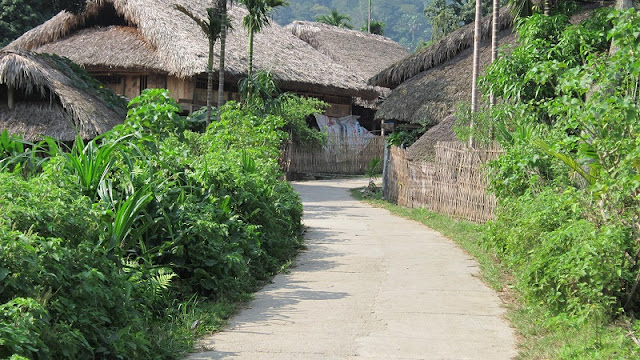 Thon Tha - a peaceful village on Ha Giang 2