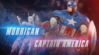 Morrigan Aensland e Capitan America
