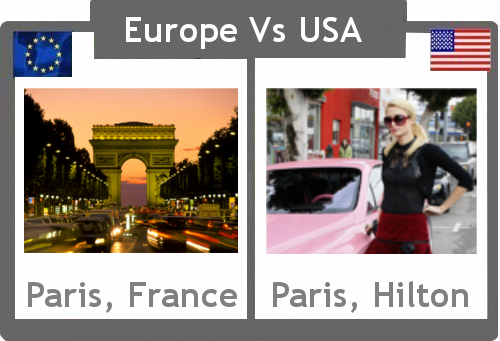 Europe vs. USA : Paris
