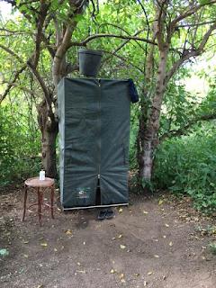 safari, suihku, botswana