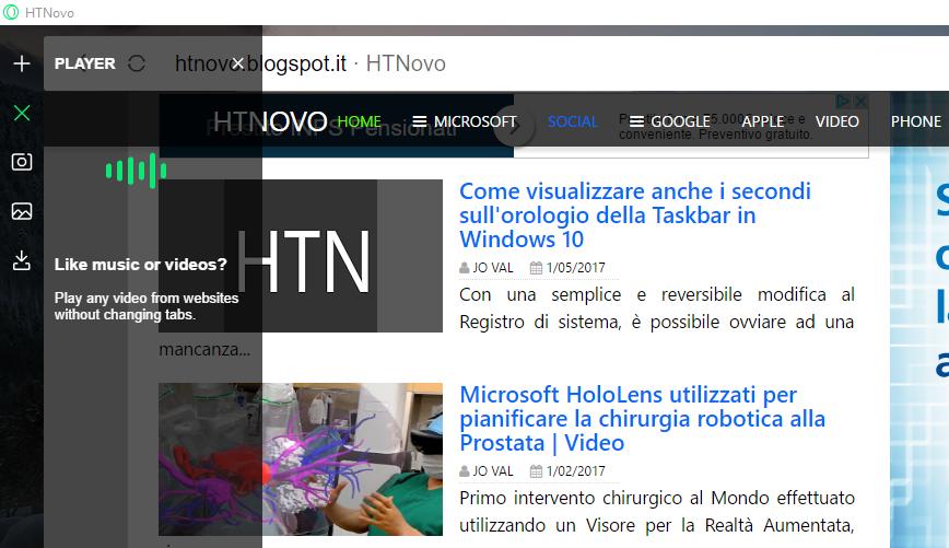 Neon, il nuovo Browser del Team di Opera | Video, Immagini, Download HTN 2