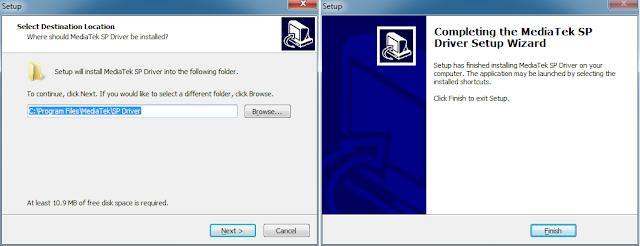 Silahkan install driver mediatek untuk flash Luna V57 dan ikuti langkah-langkahnya sampai selesai