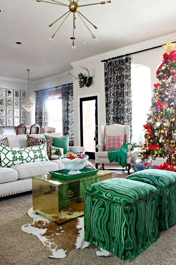 2016 Christmas Home Tour Part 1 Dimples And Tangles