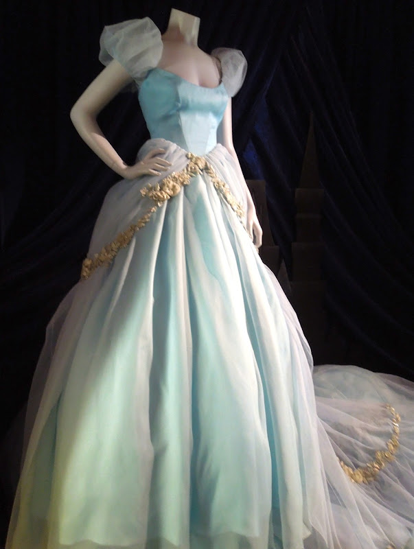 Scarlett Johansson Cinderella Disney Dream Portrait gown