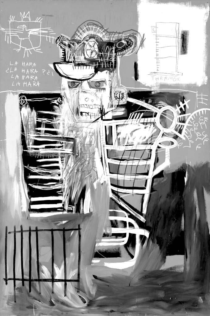 Jean-Michel Basquiat. La Hara. 1981.