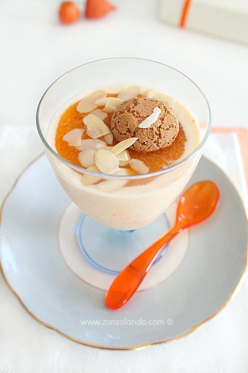 Mousse con cachi ricetta dolce cremosa e delicata - persimmon mousse recipe dessert