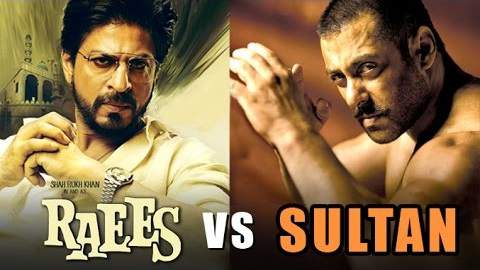 Raees vs Sultan Clash Raees vs Sultan latest news prediction
