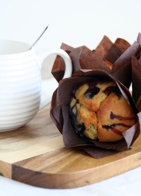 Blaubeer-Joghurt-Muffins