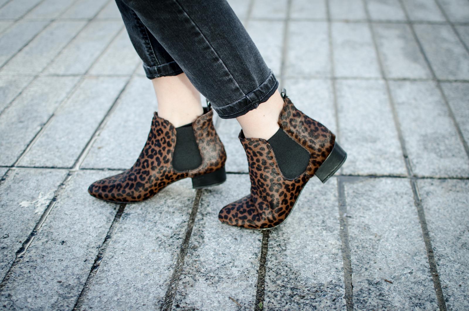 Boots léopard 1.2.3