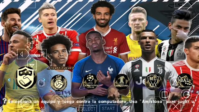 SAIU!! PES 2018 LITE 500MB PPSSPP FACES REALISTAS TIMES ATUALIZADOS PPSSPP/PSP/PC/ANDROID