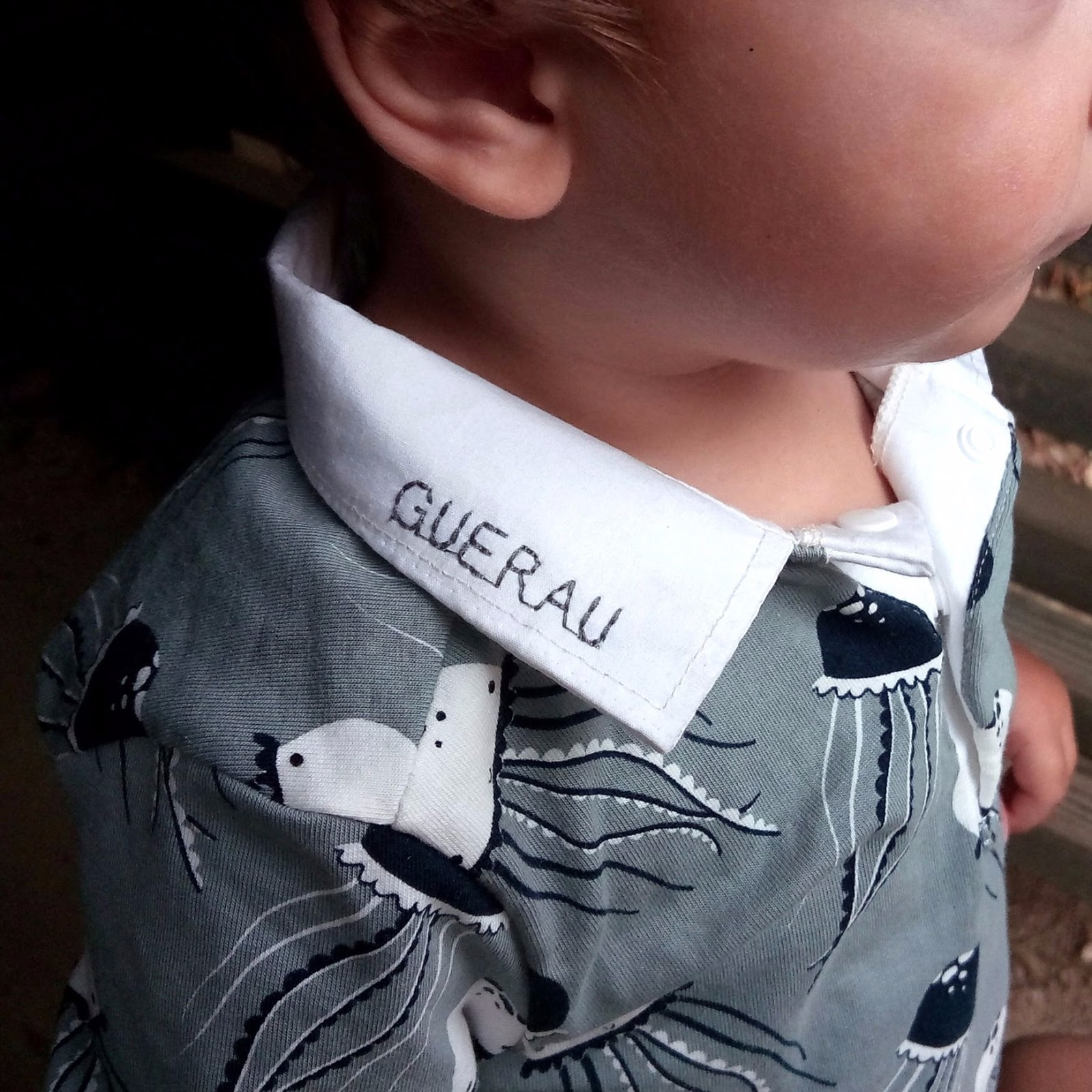 polo handmade detalle cuello