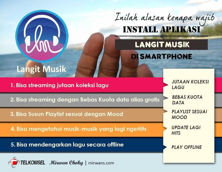 Install Aplikasi Langit Musik