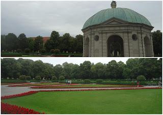 Hof Garten - Jardim da Corte O que ver em Munique Alemanha