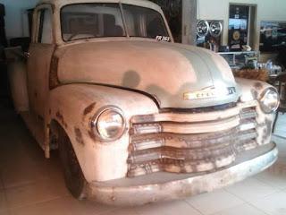 Dijual Tru Dijual Truk Klasik Chevy Lele 1948 setengah ton