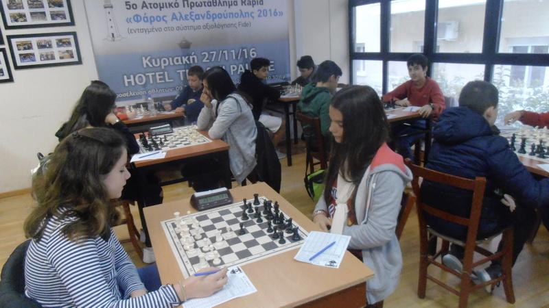 Πρωταθλήτρια Αν. Μακεδονίας - Θράκης και Σερρών η ομάδα Σκάκι Παίδων - Κορασίδων του Εθνικού Αλεξανδρούπολης