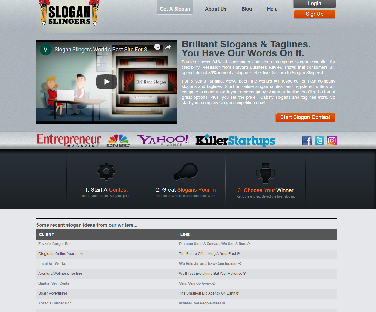 earn money by writing slogan slogan slingers site review
