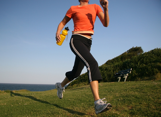 running helps remove THC from the body