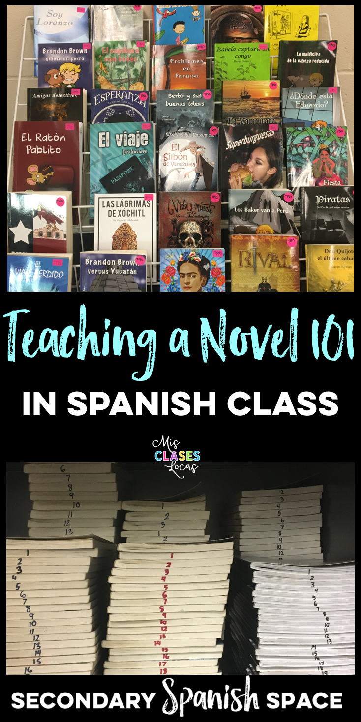 Teaching a Novel 101 in Spanish class | Secondary Spanish Space