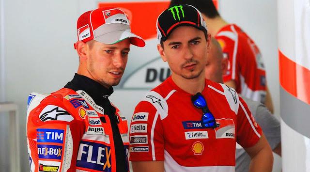 Klasemen Lorenzo Terpuruk di MotoGP 2017, Akankah Ducati Pecat Stoner?