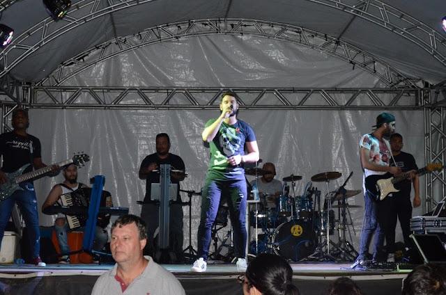 Formosa: Shows de Gustavo Braga e Dute do Acordeon encerram Festejos da comunidade de Canabrava 2019