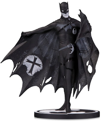 Batman Black & White Statue by Gerard Way x DC Collectibles