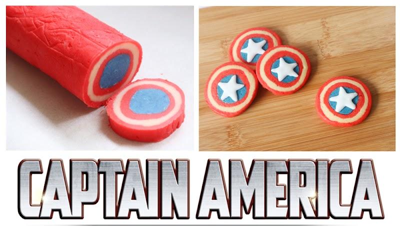 Captain America Cookies 美國隊長曲奇