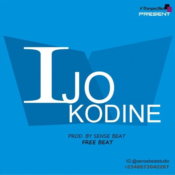 Sense Beatz - Ijo Kodine ( Free Beat + Hook )