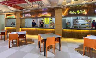 Food Court di Apartement green pramuka city