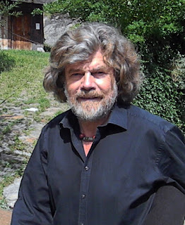 Reinhold Messner, pictured in 2012 at Castel Juval,  one of the sites of his Messner Mountain Museum