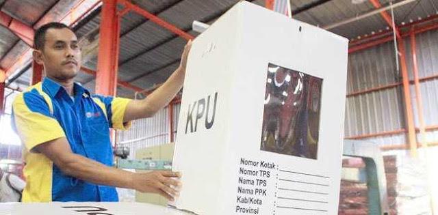Pemilu Tinggal 21 Hari Lagi, Kotak Suara Kardus Dimakan Rayap