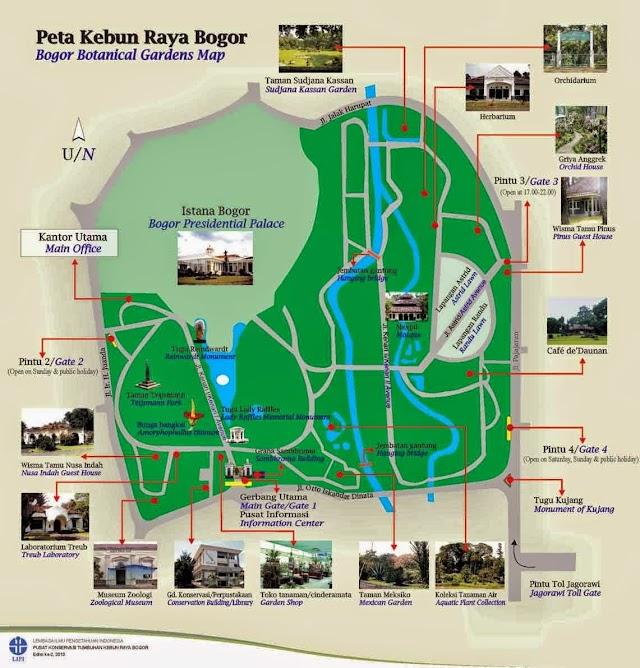 Peta Kebun Raya