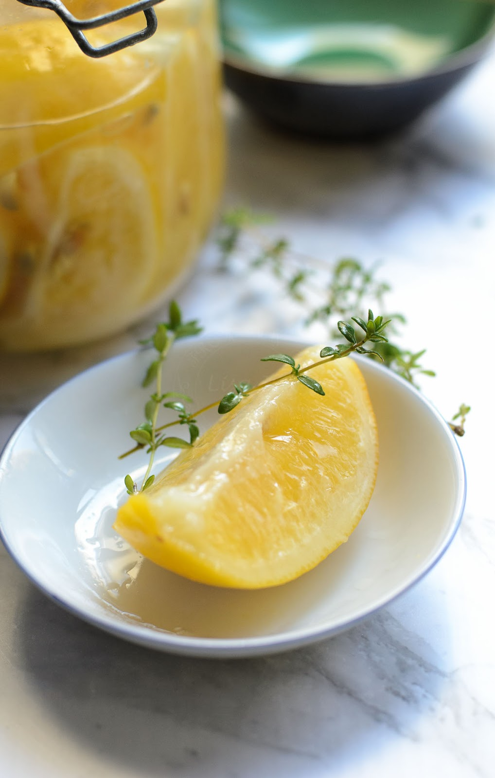 Preserved lemon slice photo