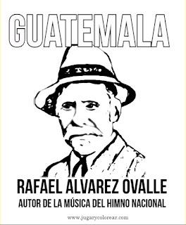 Dibuo para colorear de Rafael Álvarez Ovall