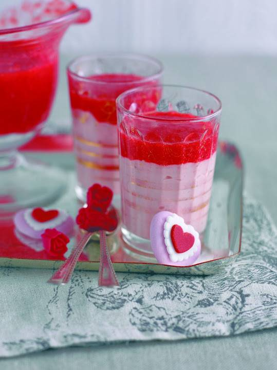 Baby Strawberry Mousses: Great For Afternoon Tea