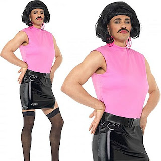 Freddie Mercury 80s Housewife Costume