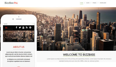 BizzBee Wordpress Theme