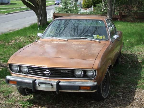Opel manta for sale craigslist | Car info