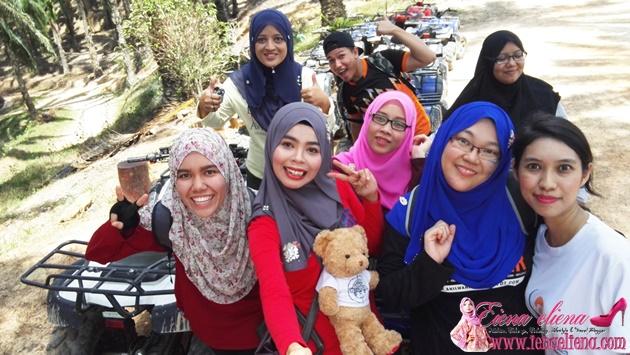 ATV Ride di  Bilut Extreme Park Bentong