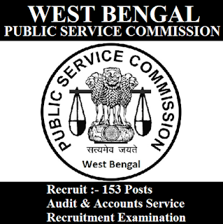 West Bengal Public Service Commission, PSCWB, PSC, WB, West Bengal, Auditor, Accounts, Graduation, freejobalert, Sarkari Naukri, Latest Jobs, wbpsc logo