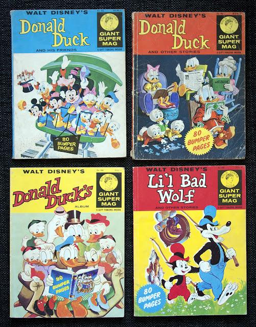 Giant Super Mag - British Disney comics