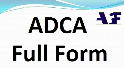 ADCA Full Form in Computer, Hindi
