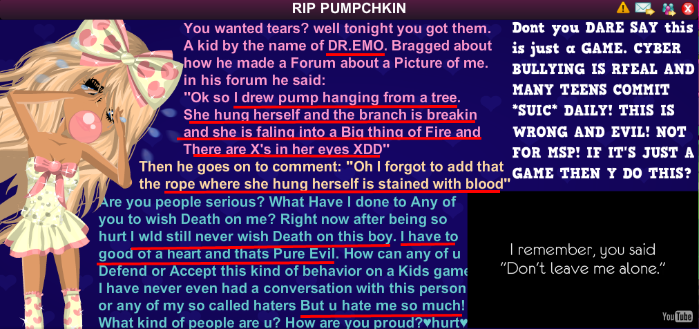 msp beat with emily3815 pumpchkin vs forumers