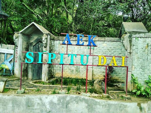 Aek Sipitu Dai Antara Objek Wisata dan Sumber Mata Air Warga