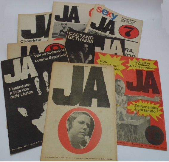 Caetano Veloso ...en detalle.  1971 - JA - Jornal de Amenidades 4c9372b3d4