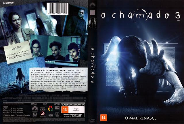 Capa DVD O Chamado 3 (Oficial)