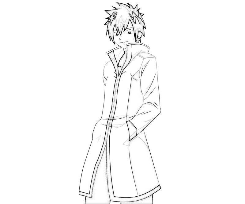 action anime coloring pages - photo#6